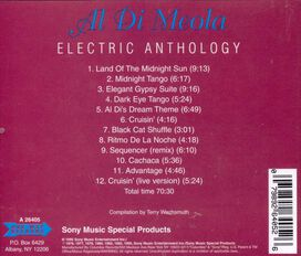 Al di Meola - Electric Anthology