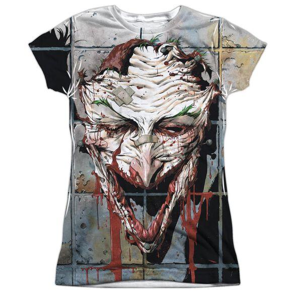 Batman Smile Short Sleeve Junior Poly Crew T-Shirt
