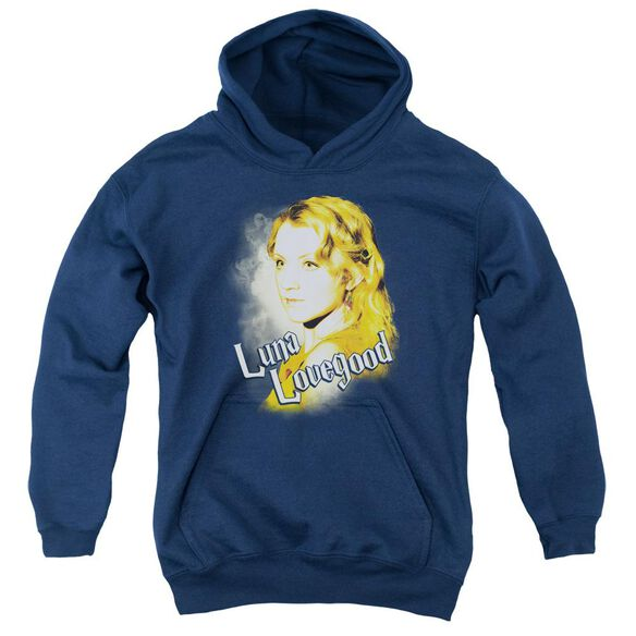 Harry Potter Luna Closeup Youth Pull Over Hoodie