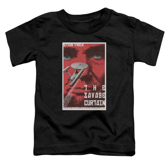 Star Trek Tos Episode 77 Short Sleeve Toddler Tee Black Lg T-Shirt