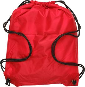 Big Bang Theory Bazinga Red Drawstring Backpack