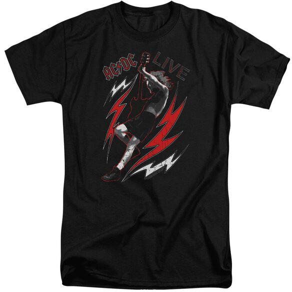 Acdc Live Short Sleeve Adult Tall T-Shirt