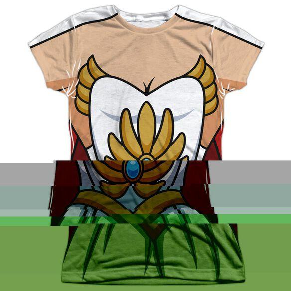 SHE RA COSTUME-S/S JUNIOR T-Shirt