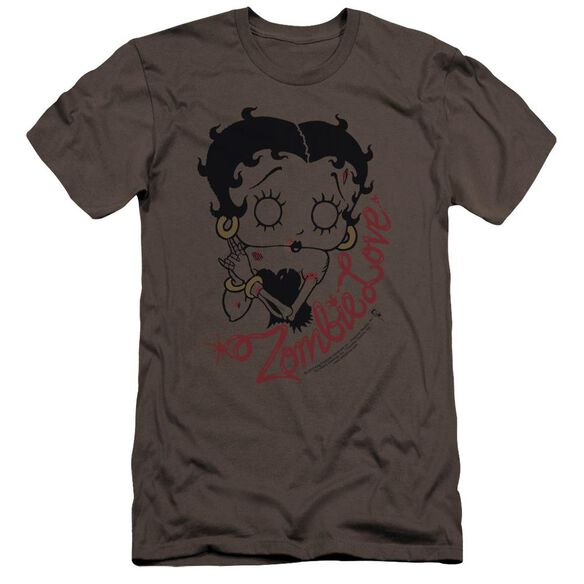 Betty Boop Classic Zombie Premuim Canvas Adult Slim Fit