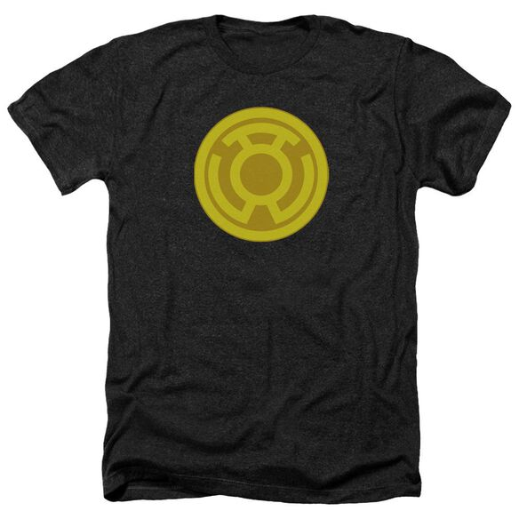 Green Lantern Yellow Symbol Adult Heather
