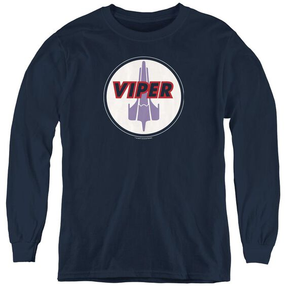 Bsg Viper Badge - Youth Long Sleeve Tee