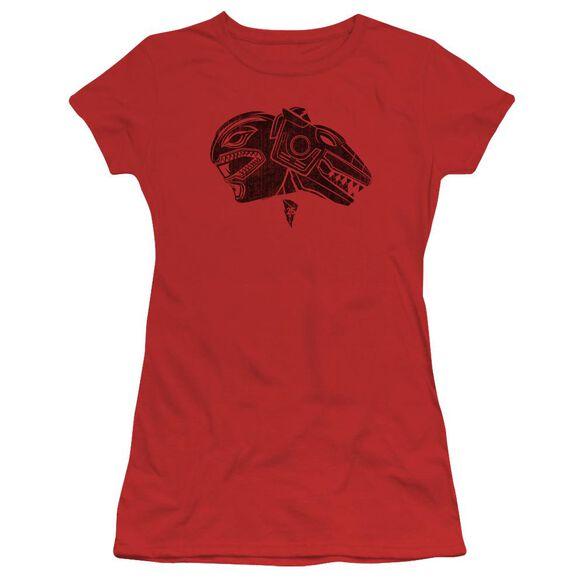 Power Rangers Short Sleeve Junior Sheer T-Shirt