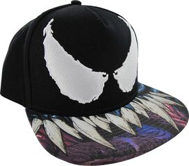 Venom Eyes Sublimated Bill Snapback Hat