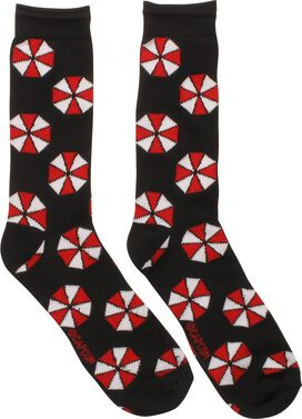 Resident Evil Umbrella Logo Crew Socks