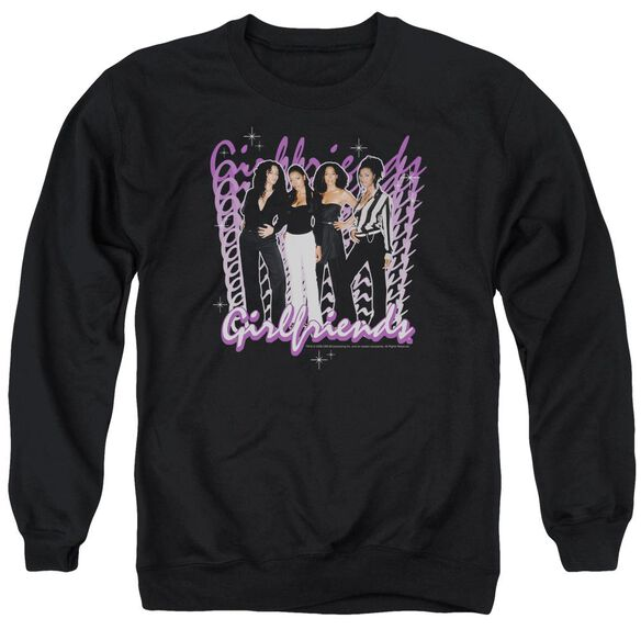 Girlfriends Girlfriends Adult Crewneck Sweatshirt
