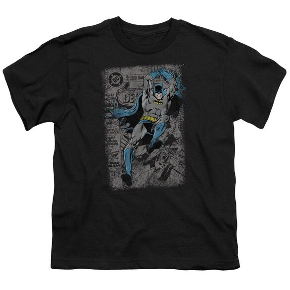 Batman Detective #487 Distress Short Sleeve Youth T-Shirt