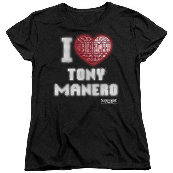Saturday Night Fever I Heart Tony Short Sleeve Womens Tee T-Shirt