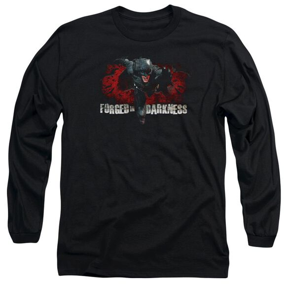 Dark Knight Rises Forged In Darkness Long Sleeve Adult T-Shirt