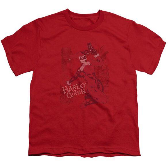 Batman Harley's Packing Short Sleeve Youth T-Shirt