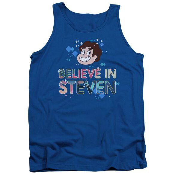 Steven Universe Believe Adult Tank Royal