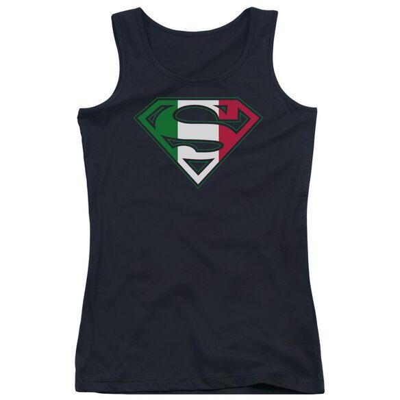Superman Italian Shield Juniors Tank Top