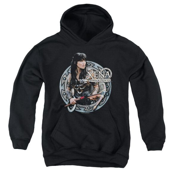Xena The Warrior Youth Pull Over Hoodie
