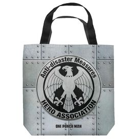 One Punch Man Hero Association Tote Bag