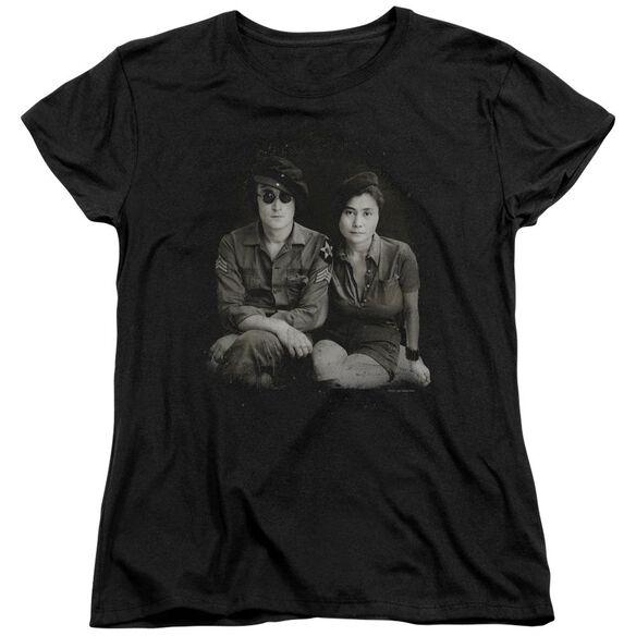 John Lennon Beret Short Sleeve Womens Tee T-Shirt