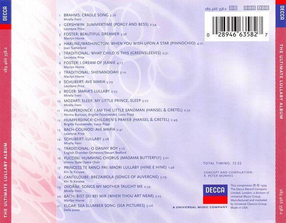 Ultimate Lullabies 0599