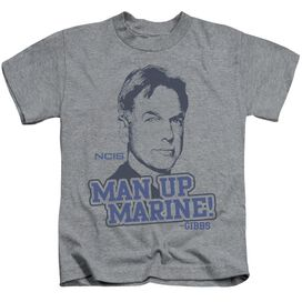 NCIS MAN UP - S/S JUVENILE 18/1 - ATHLETIC HEATHER - T-Shirt