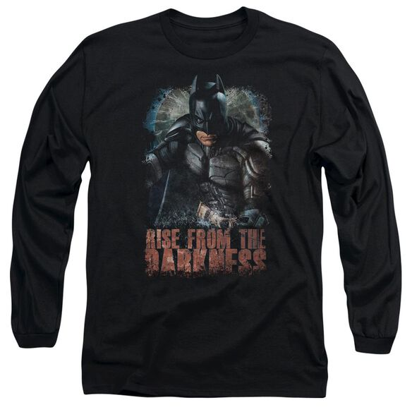 Dark Knight Rises Rise From Darkness Long Sleeve Adult T-Shirt