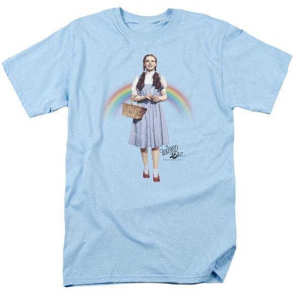 Wizard Of Oz Over The Rainbow Short Sleeve Adult Light T-Shirt