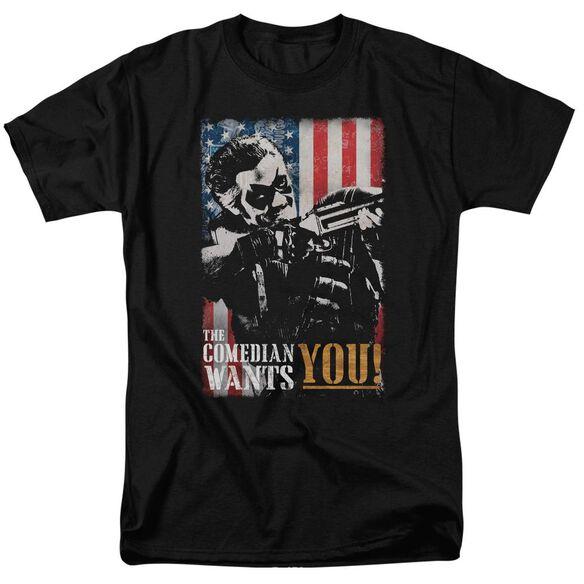Watchmen The Comedian Wants You Short Sleeve Adult T-Shirt
