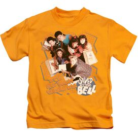 SAVED BY THE BELL ITS ALL RIGHT - S/S JUVENILE 18/1 - GOLD - T-Shirt
