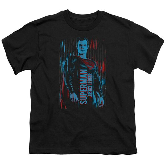 Justice League Movie Superman Short Sleeve Youth T-Shirt