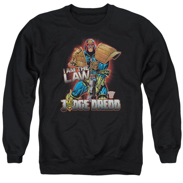 Judge Dredd Law Adult Crewneck Sweatshirt