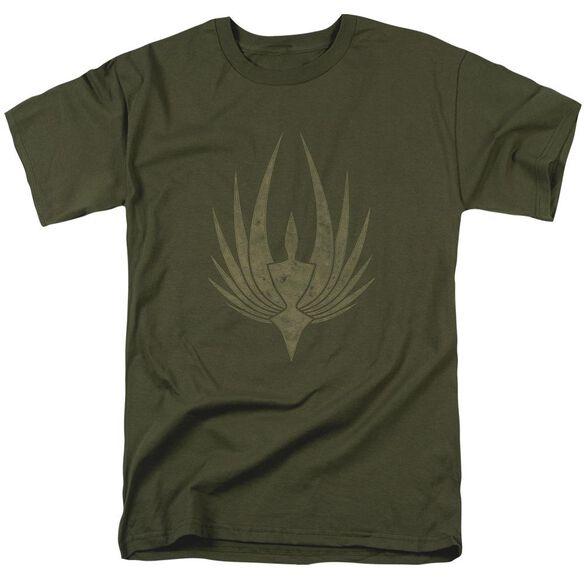 Bsg Phoenix Short Sleeve Adult Military Green T-Shirt