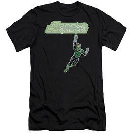 Green Lantern Energy Construct Logo Premuim Canvas Adult Slim Fit