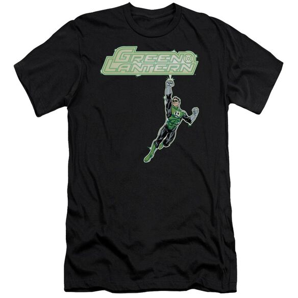 Green Lantern Energy Construct Logo Premuim Canvas Adult Slim Fit