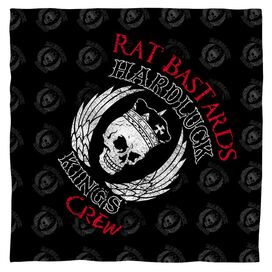 Hardluck Kings Rat Bastards Logo Bandana