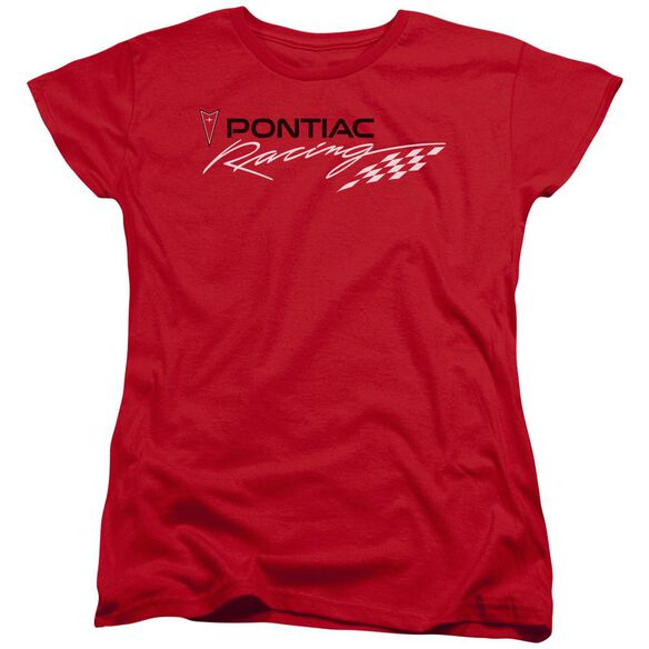 Pontiac Pontiac Racing Short Sleeve Womens Tee T-Shirt