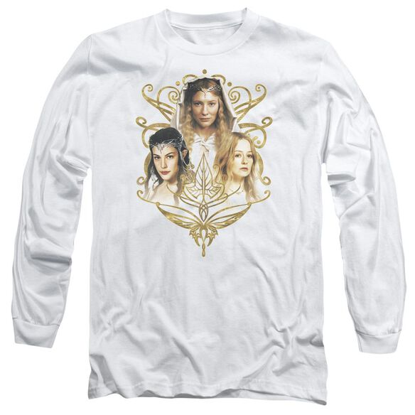Lor Women Of Middle Earth Long Sleeve Adult T-Shirt