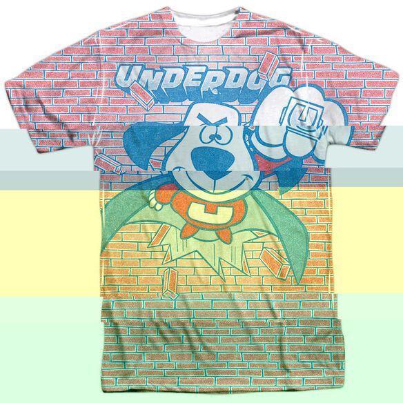 UNDERDOG BURST-S/S ADULT T-Shirt
