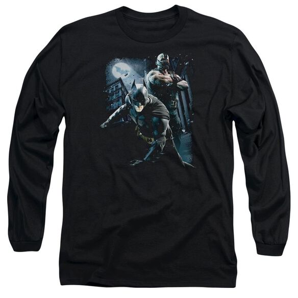 Dark Knight Rises Battlefield Gotham Long Sleeve Adult T-Shirt