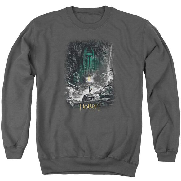 Hobbit Second Thoughts Adult Crewneck Sweatshirt
