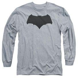 Batman V Superman Batman Logo Long Sleeve Adult Athletic T-Shirt