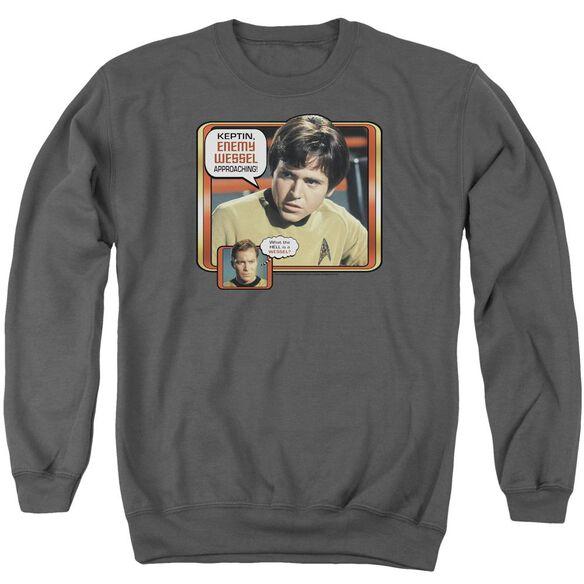 Star Trek Enemy Wessel Adult Crewneck Sweatshirt
