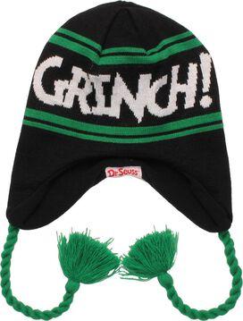 Dr Seuss Grinch Reversible Lapland Beanie