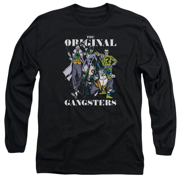 Dc Original Gangsters Long Sleeve Adult T-Shirt