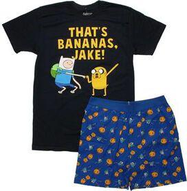 Adventure Time Bananas T-Shirt Sheer Boxer Combo