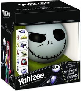 Nightmare Before Christmas Yahtzee