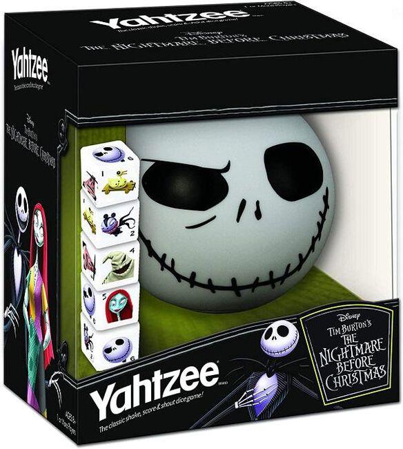 Nightmare Before Christmas Yahtzee