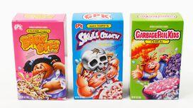 Garbage Pail Kids Cereal 3 pack