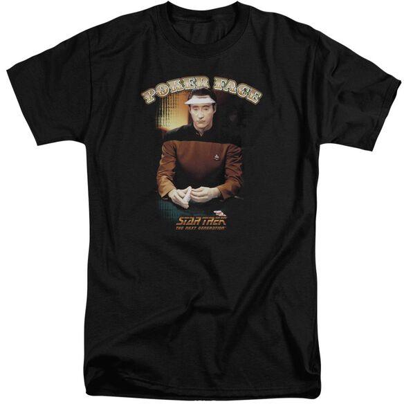 STAR TREK POKER FACE-S/S T-Shirt