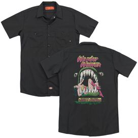 Dc Jaws (Back Print) Adult Work Shirt